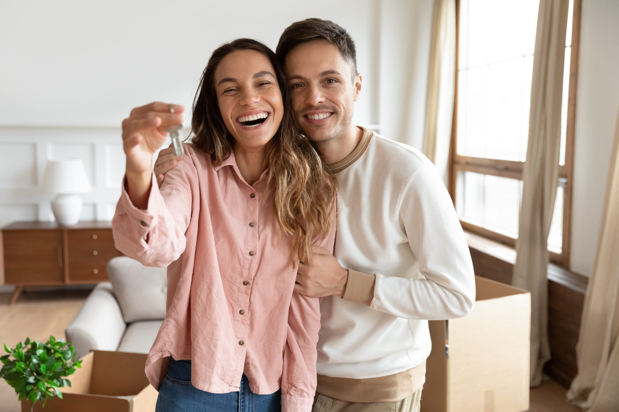 young first time homebuyers