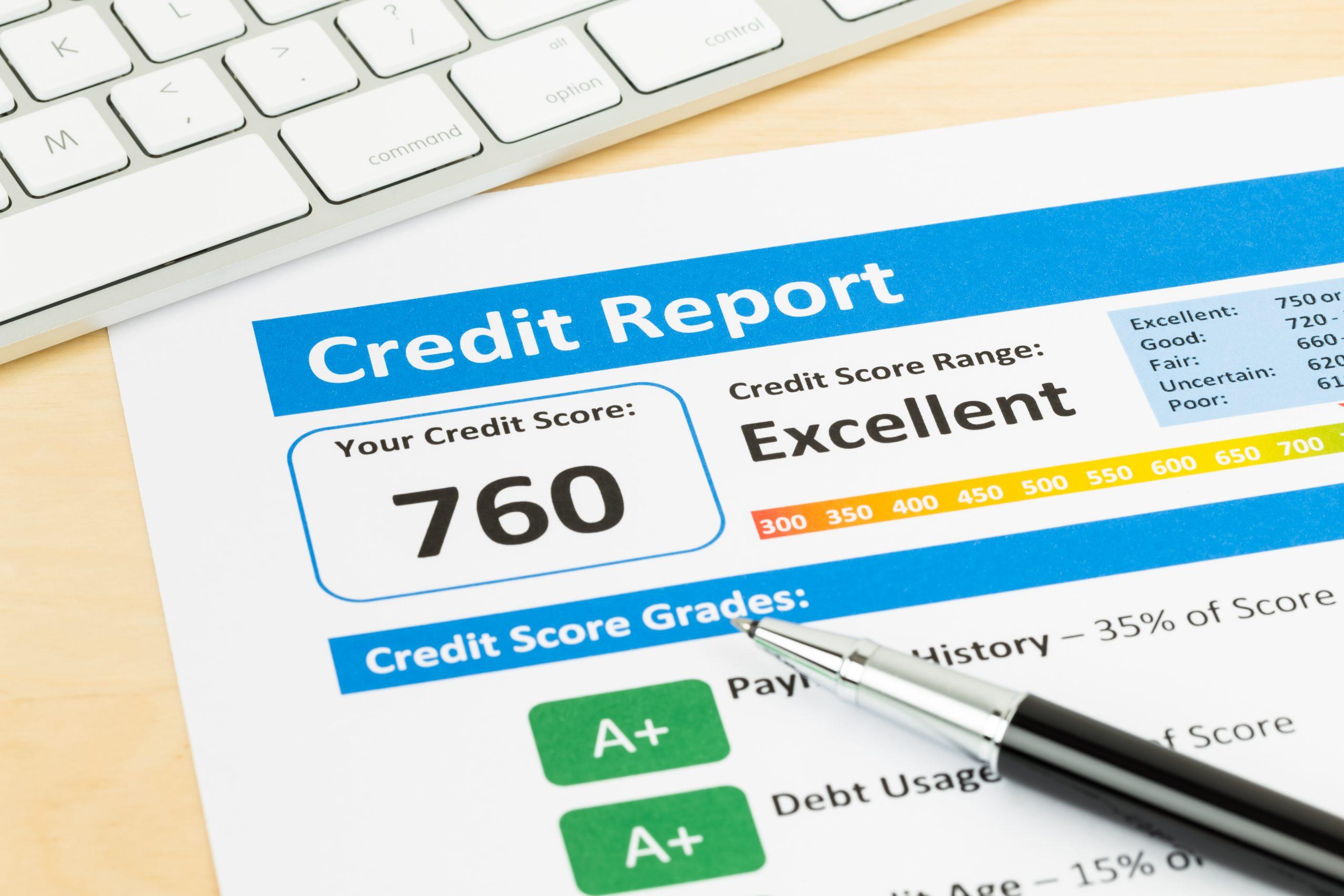 credit score | credit report